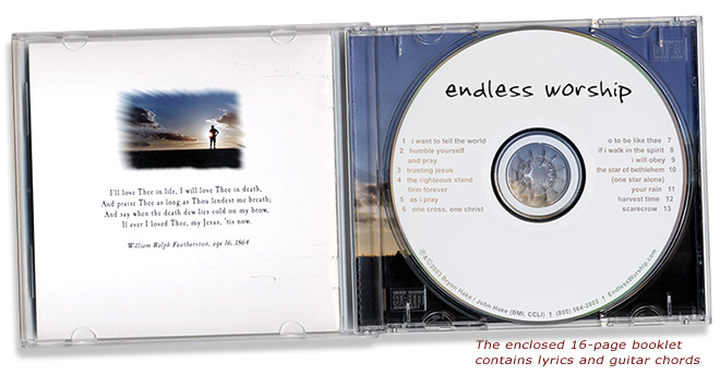 INSIDE VIEW - Endless Worship CD
